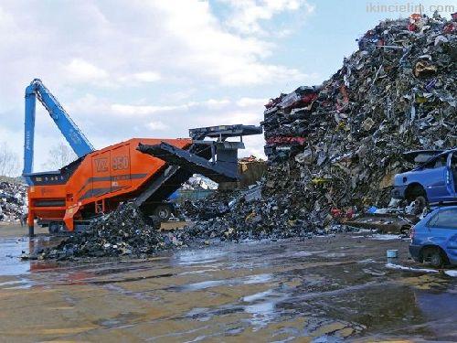 Geri dönüşüm metal hurda parçalama makinaları