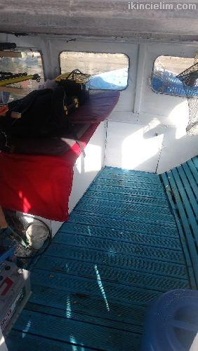 6,60 Keyifçi Teknesi Yeri İle Beraber