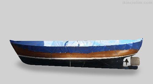 Liman Kayıtlı Balıkçı Teknesi (Bindirme Maun)