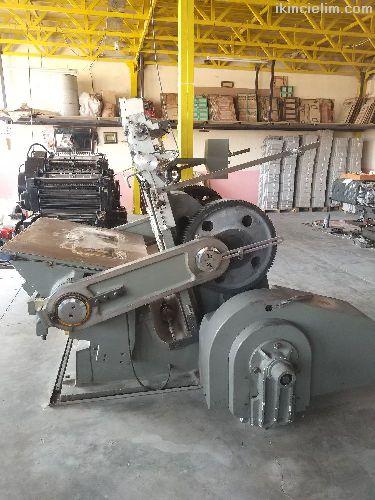 80x110 Yaldız Tertibatlı Pedal Kesim Makinesi