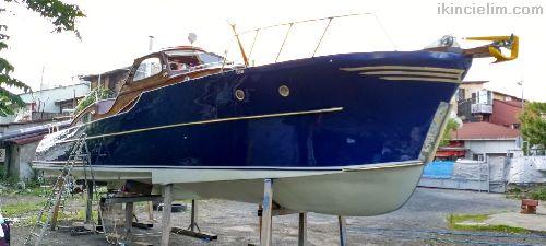 Harry Becker Maun Isvec özel yapim sürat teknesi (