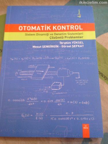 Otomatik kontrol sistem dinamiği ve denetim sistem