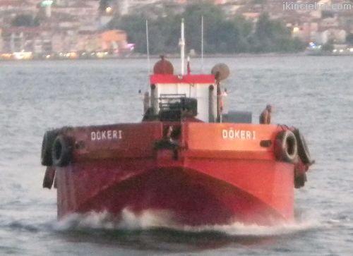 Çamur Gemisi/ Hizmet Teknesi