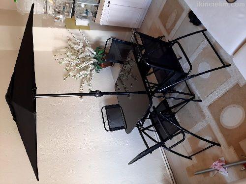 Lüx Masa Sandalye Takım Yeni Hiç Kullanılmamış