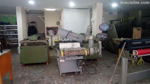 Uv kurutmalı emprime serigrafi baskı makinesi
