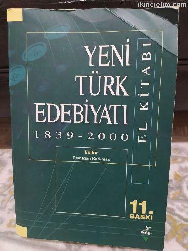 Yeni türk edebiyatı kitabı