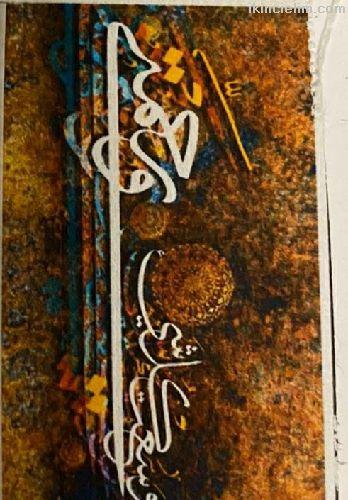Sipariş üzerine Boncuk elmas işlenmiş goblen resim