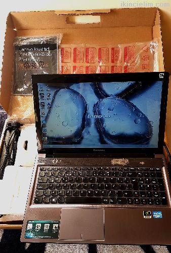 Lenovo i7 z580 Kutusunda Belgeli Temiz guclu pc