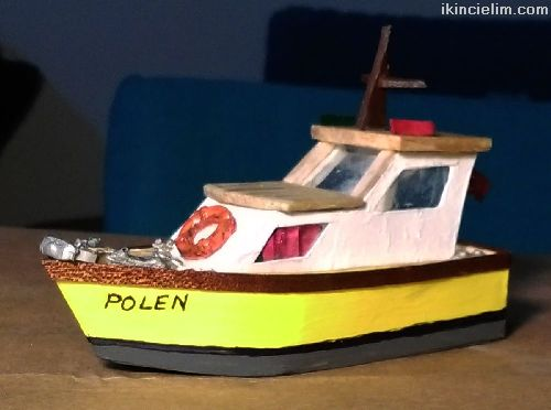 1/87 Ho Polen Motoryat