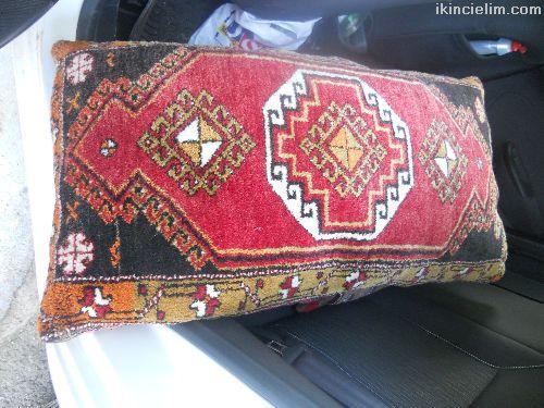 Antika satılık halı yastıklar
