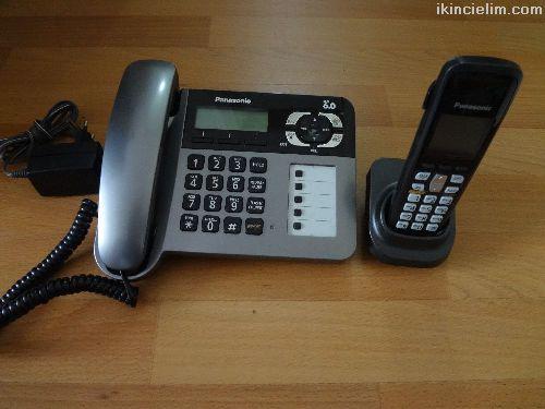 Panasonic Masa Ve Telsizli Telefon