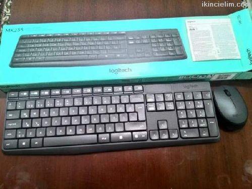 Logitech klavye mouse fare set mk235