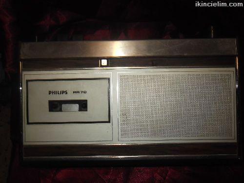 Phılıps Rr 70 kaset çalar radyo