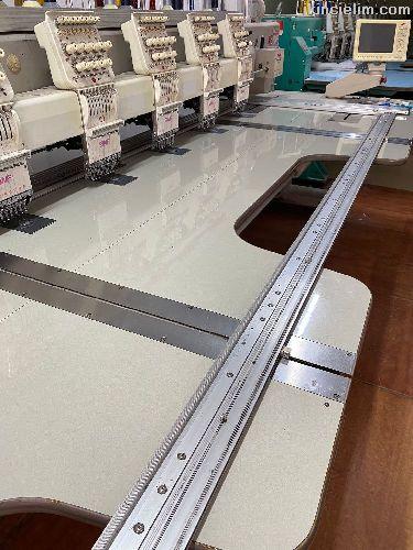 18 Kafa Swf Sb Serisi 1200 Devir Nakış Makinası