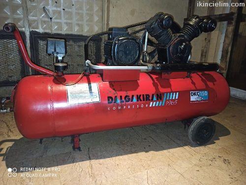 Dalgakıran Dkç 150 125 litre hava kompresörü