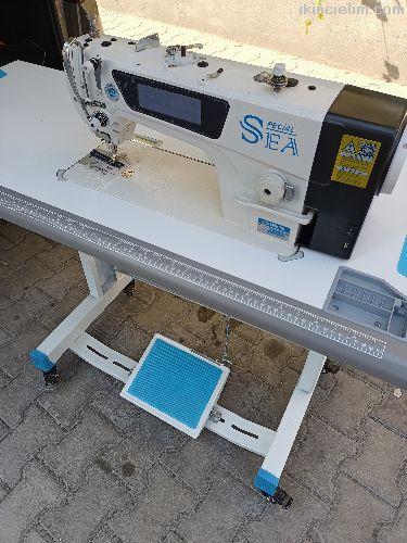 Sea dokunmatik ekran düz dikiş makinası sıfır