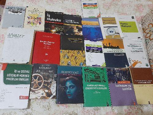 Hukuk,sosyal politika,maliye kitaplar