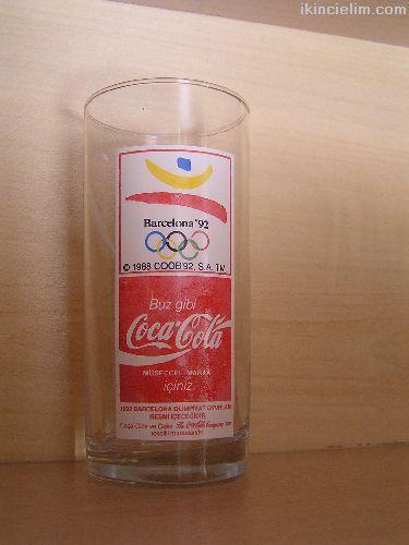 COCA COLA - BARCELONA 92 - OLİMPİYAT BARDAĞI