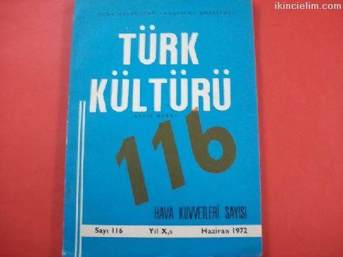 TÜRK KÜLTÜRÜ DERGİSİ 116
