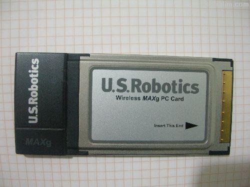 U.S.Robotics MAXg Wireless Pcmcia Kart