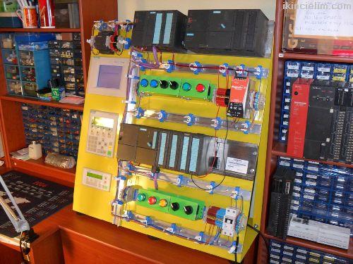 PLC SCADA S7200 S7 300 WINCC Scada kurs eğitim
