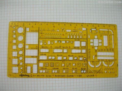Rotring Art 853 779 Şablon