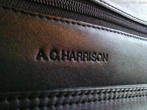 A . C . HARRISON  DERİ  İTHAL  BUSİNEES  ÇANTA