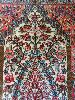 İRAN - Kum İpekli İran halısı Hayvansal & bitkisel motif