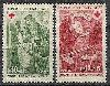 Fransa 1970 Damgasız Kızılhaç Serisi
