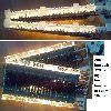 200 lambalı yılbaşı ışıklandırma ağaç cam vitrin