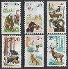 Almanya (Doğu) 1977 Damgasız Yaban Hayvanları Seri