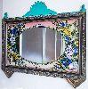 Camaltı El Boyama Antika- Ayna