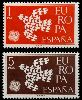 İspanya 1961 Damgasız Avrupa Cept Serisi
